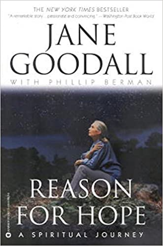 The Hope: A Spiritual Journey by Dr. Jane Goodall travel product recommended by Laurel Robbins on Pretty Progressive.