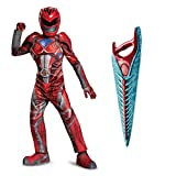 Power Rangers Movie Red Ranger Children's Prestige Costume Kit