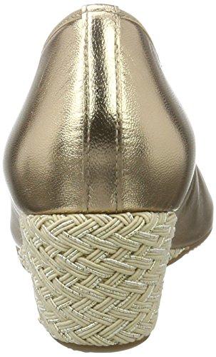 platin Med Weite Spids Sko Rimini Hassia G 7500 For Lukket Guld Kvinde vaxBwFO