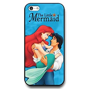 The Little Mermaid Ariel Classic Disney Cartoon Movie Hard Plastic Phone Case Cover for iPhone 5c - Black