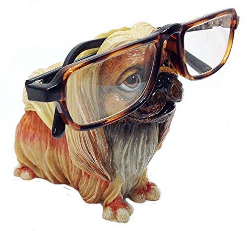 Pekingese Dog Breed Novelty Eyeglass Holder Stand