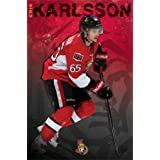 """Erik Karlsson - Ottawa Senators NHL 2013 22""""x34"""" Art Print Poster"""