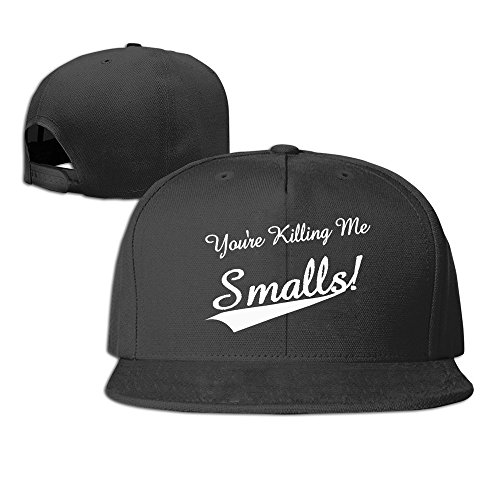 You're Killing Me Smalls Logo Baseball Snapback Hat Black ()