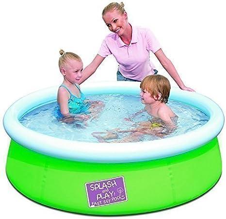 BESTWAY mi primer rápido juego inflable piscina SPLASH bracear ...
