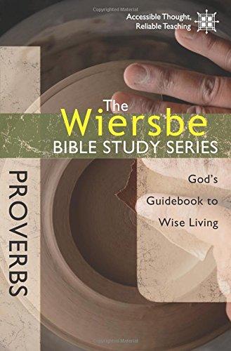 Wiersbe Bible Study Proverbs Guidebook