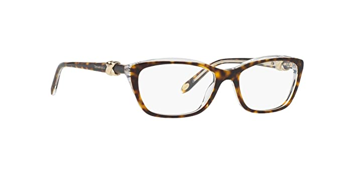 d4f22587be66 Image Unavailable. Image not available for. Color  Tiffany   Co. TF-2074  Eyeglasses RX-able Frame for Women Cat-