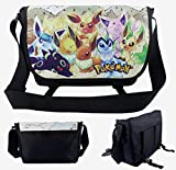 Anime Pokemon Eevee Evolutions Messenger bag