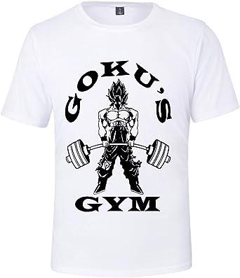 HAOSHENG Hombre Camiseta Dragon Ball Goku Anime Impresión Manga Anime Historieta Mujer T-Shirt: Amazon.es: Ropa y accesorios