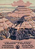 WPA Poster - Grand Canyon National Park, a free government service