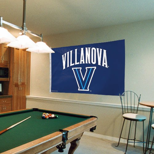 Pole Ncaa Merchandise (NCAA Villanova Wildcats 3' x 5' Logo Flag - Navy)