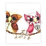 Society6 So In Love Hooties - Owl IPhone Case 88'' x 104'' Blanket