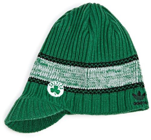 adidas Boston Celtics Visor Knit Hat KE83Z