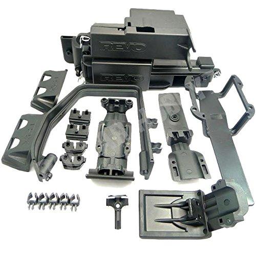 Traxxas NEW Revo 3.3 ELECTRONICS BOX, SKID PLATES, ROLL BAR & SERVO GUARDS
