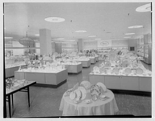 Photo: Gimbel Brothers,business in Cross County Center,Yonkers,New York. - County Yonkers Cross