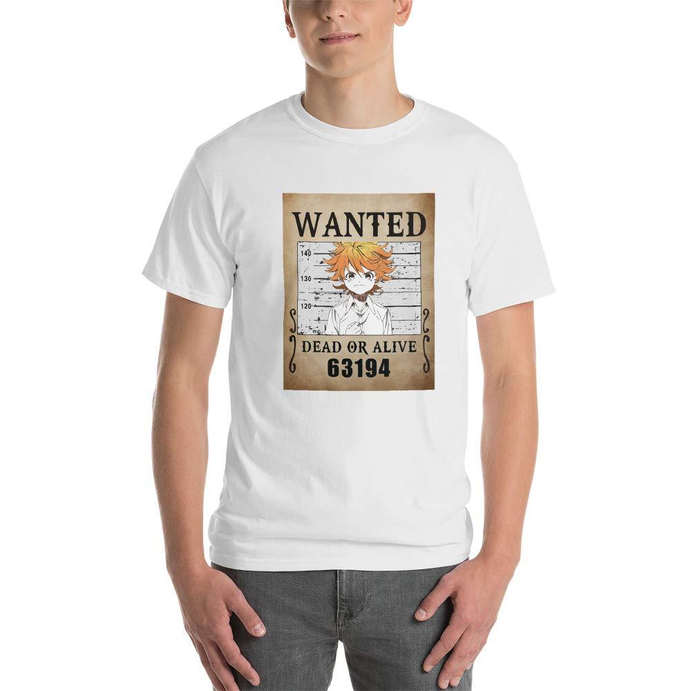 Emma The Promised Neverland Anime Manga Cosplay Wanted Dead Alive Frame Men Women Unisex T-Shirt