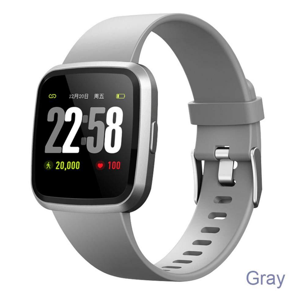 talogca Pulsera Inteligente Presión sanguínea Monitoreo de la frecuencia cardíaca Podómetro para Correr Multifuncional Deportes Pulsera Inteligente
