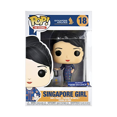 Funko Pop! Ad Icons: Singapore Girl with Protector ()