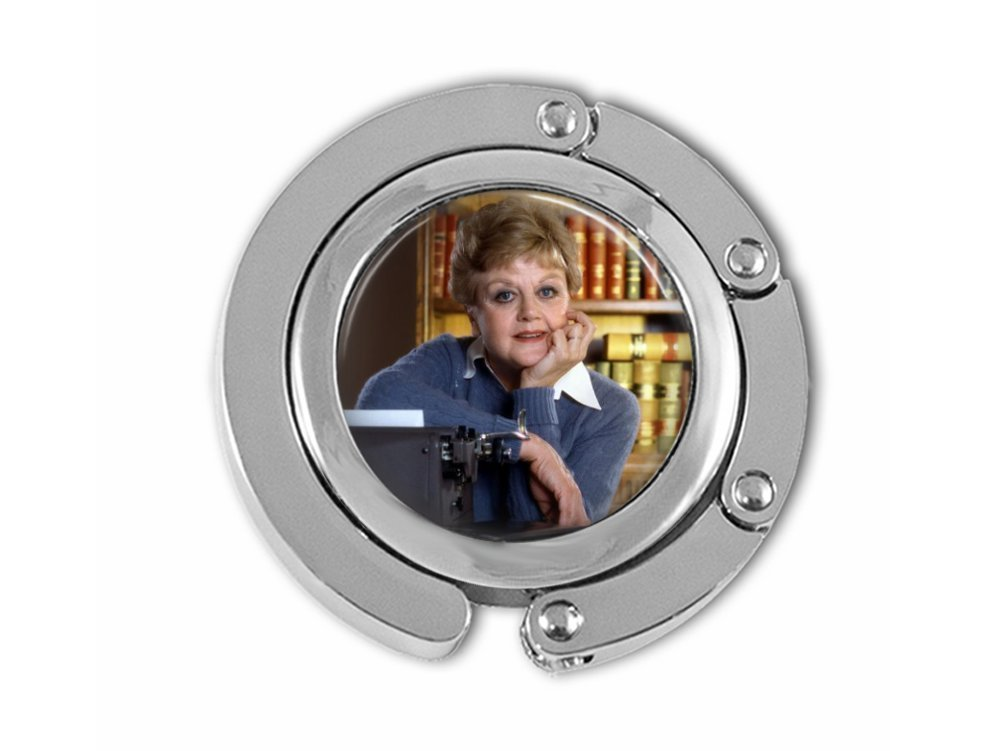 Murder, She Wrote themed purse hook.
