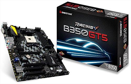 - Biostar B350GT5 AM4 AMD B350 ATX Motherboards - AMD