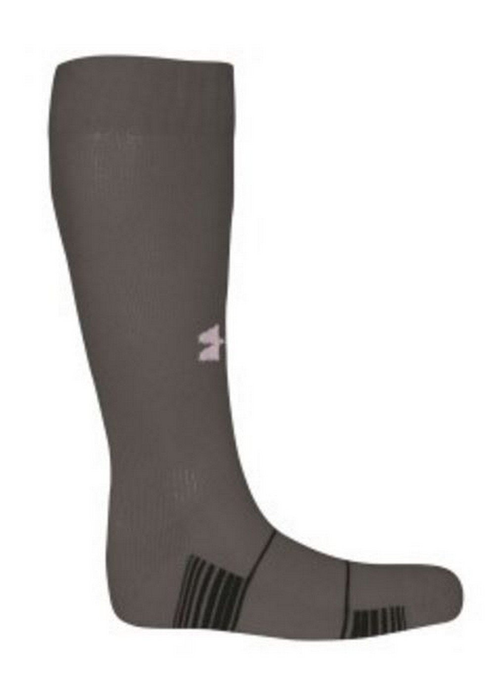 Under Armour Men's Team OTC Graphite Sock 10-13 large