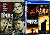 3 Modern Classics: The Departed/ No Country For Old Men/ Gone Baby Gone 3 Movie Bundle Collection