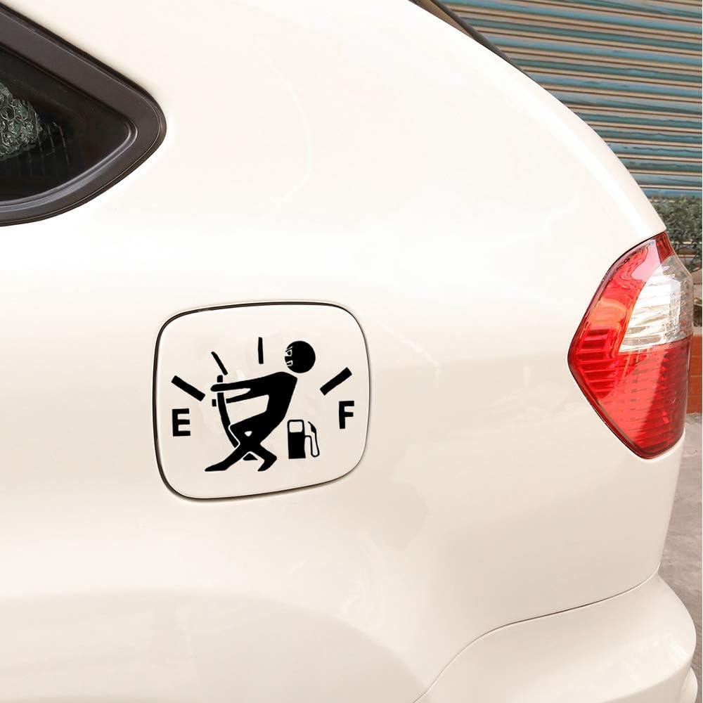 Funny Car Stickers Animal Fuel Tank Cap Sticker Waterproof Auto Stickers