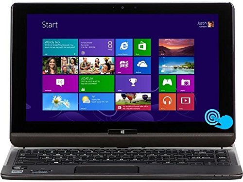 Toshiba Satellite 2 in 1 Convertible Flagship 12.5-Inch IPS HD Touchscreen Ultrabook | Intel Core i5-3337U | 128GB SSD | 8GB RAM | GPS | NFC | WIFI | Backlit Keyboard | Windows 10 (Toshiba Mini Tablet)