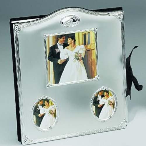 Wedding Rings w/Crystal, Comb. Album - Photo Album