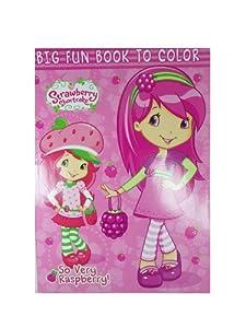 So Very Raspberry Strawberry Shortcake Big Fun Book To Color