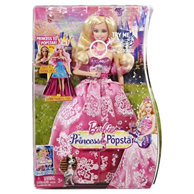 Barbie The Princess & the Popstar 2-in-1 Transforming Tori Doll: Toys & Games
