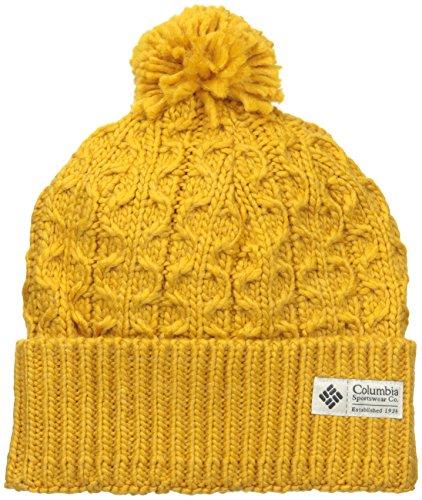 Columbia Women's Hideaway Haven Beanie, Pilsner Heather, One Size (Hat For Women Winter Columbia)