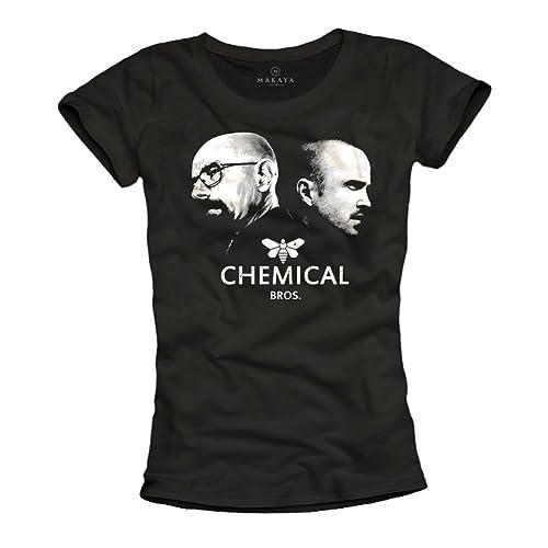 Magliette donna CHEMICAL BROS T-shirt Heisenberg
