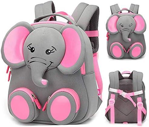 Kids Boys Girls Cute Elephant Rucksack School Bag Kindergarten Children Backpack
