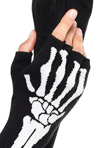 Leg-Avenue-Womens-Skeleton-Fingerless-Gloves