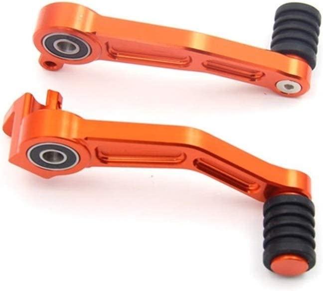 Color : Orange XIANGBAO Qi Arancione Moto Pedale del Freno Leva /& Cambio di Marcia Pedale Leva Coppia di Alluminio di CNC for KTM 390 Duke 2013 2014 2015 2016 125 200