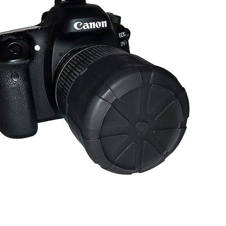 Eforstore - Tapa de Silicona para Objetivo de cámara Canon Nikon ...