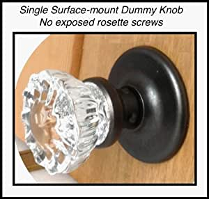 Single Crystal Antique Replica Surface Mount Single Dummy