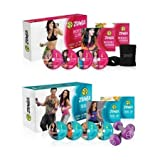Zumba Fitness Incredible Slimdown Cardio Dance System with Zumba Tone up - Arms -Back & Core Sculpting System