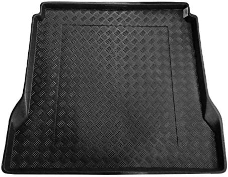 carmats4u Tailored Boot Liner//Mat//Tray for Rexton W 7 Seats 2012-2016 /& Removable Anti-Slip Anthracite Carpet Insert
