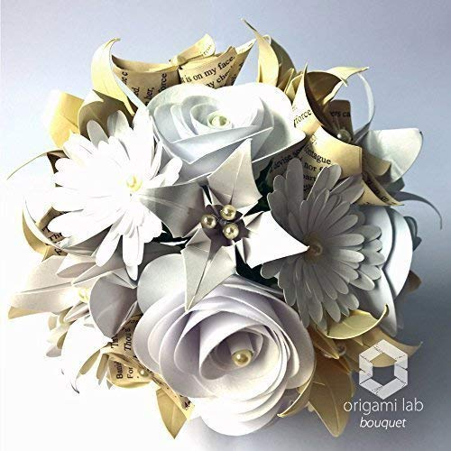 Bouquet Sposa Carta.Bouquet Di Carta Romeo E Giulietta Sposa Matrimonio Fatto