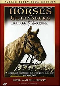 Horses of Gettysburg - CIVIL WAR MINUTES IV Public Television Edition DVD
