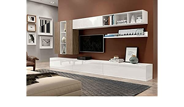 Klipick Muebles Salón Pared attrezzata Wall 011.: Amazon.es ...