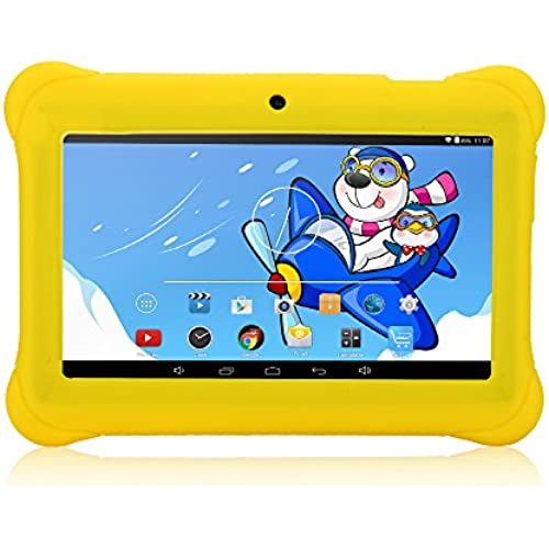 iRULU 7 Inch Kids Android Tablet PC, 1024600 HD Resolution, 1GB RAM, 8GB Nand Flash, Children World, Google Play Coupons
