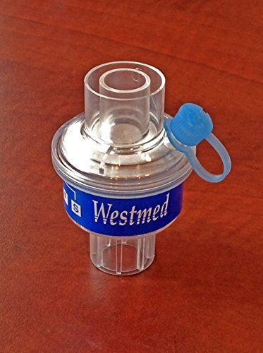 Premium Adult HME/F Heat and Moisture Exchanger with Filter by Westmed