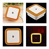 induction brazing - 1 Pcs Terrific Popular LED Nightlight Auto Induction Sensor Control Soft Night Lamp Color Orange with US Plug