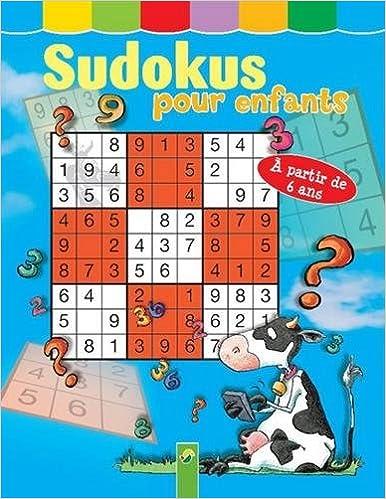 Lire Sudokus pour enfants epub pdf