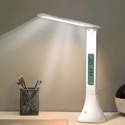 Lámpara de escritorio LED Lámpara de mesa táctil regulable ...