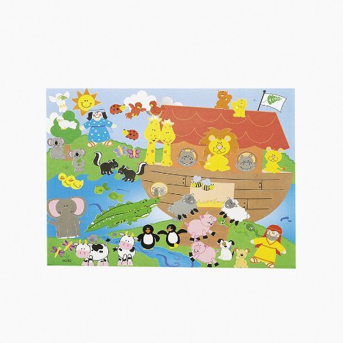 Design Your Own Noah's Ark Sticker Scene (1 dz)