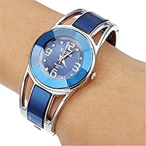Wensltd clearance sale womens alloy band dress bracelet wrist watch watches for Watches clearance