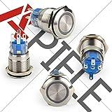 APIELE [3 year warranty] 19mm Latching Push